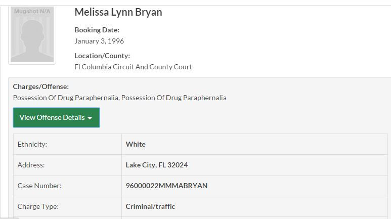 Outlaw Life Paranormal Melissa Bryan.Arrest.5.JPG